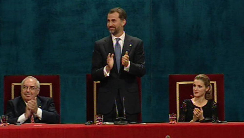 El Príncipe Felipe preside la ceremonia