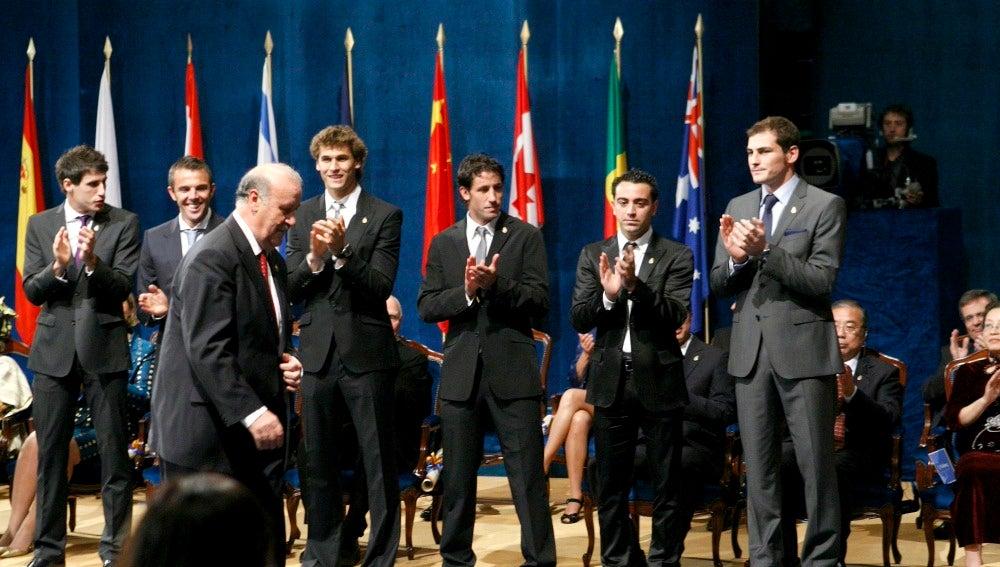 La Selección, premiada en Oviedo