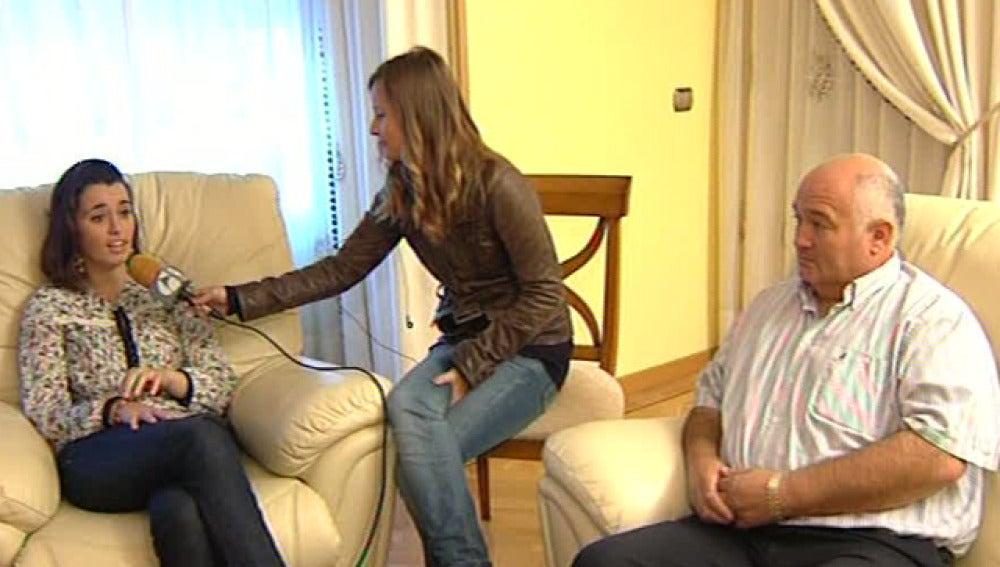 Noelia Mota habla con Espejo Público