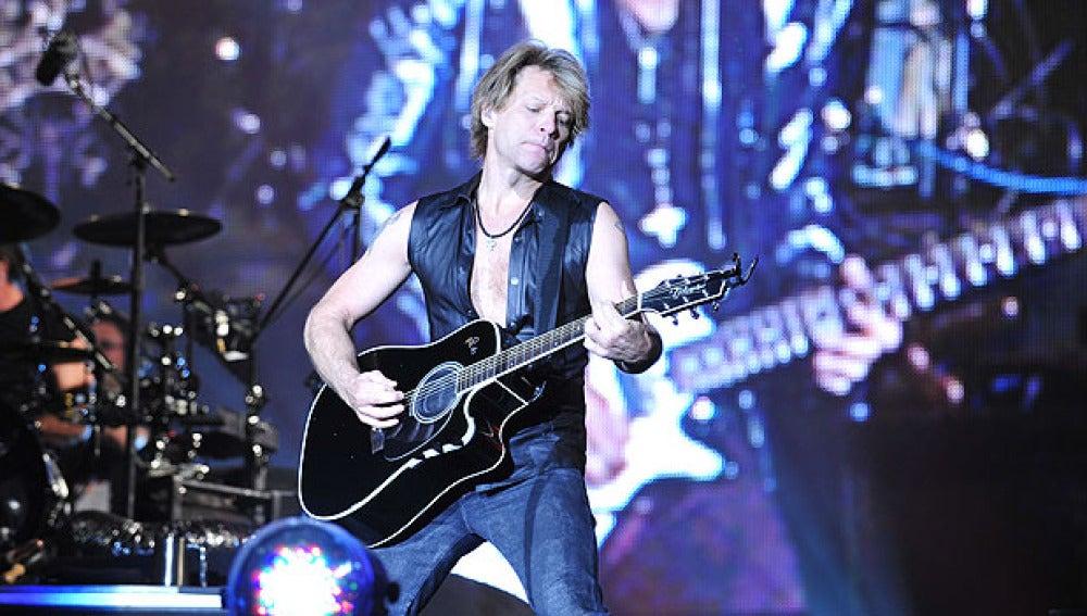 Bon Jovi en su paso por el 'Rock in Rio'
