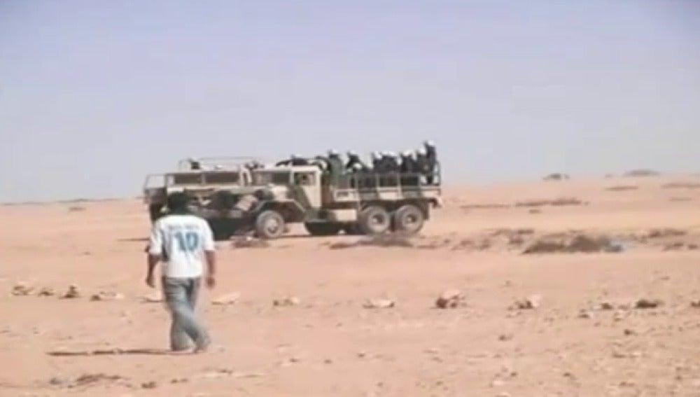 Los saharauis piden que se cumplan los derechos humanos
