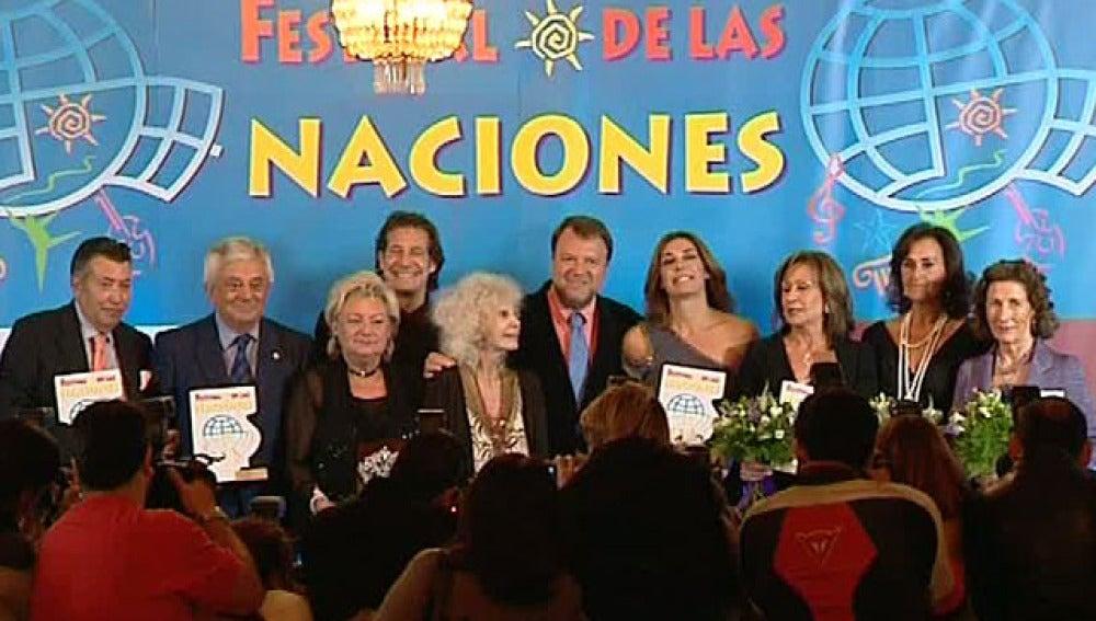 Ganadores del premio 'Solidarios'