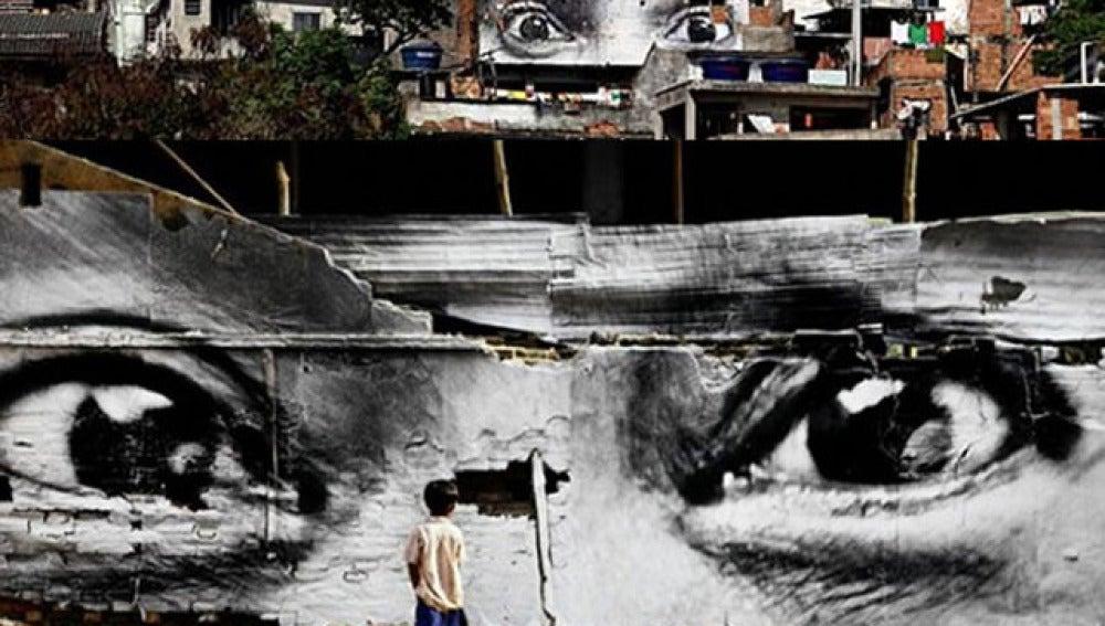 El grafitero JR gana el premio TED