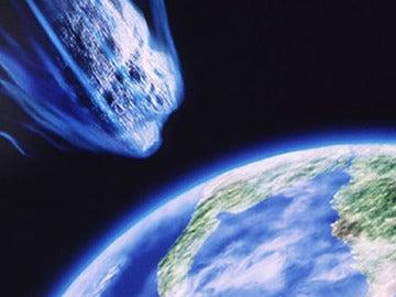 Asteroide dirigiéndose a La Tierra