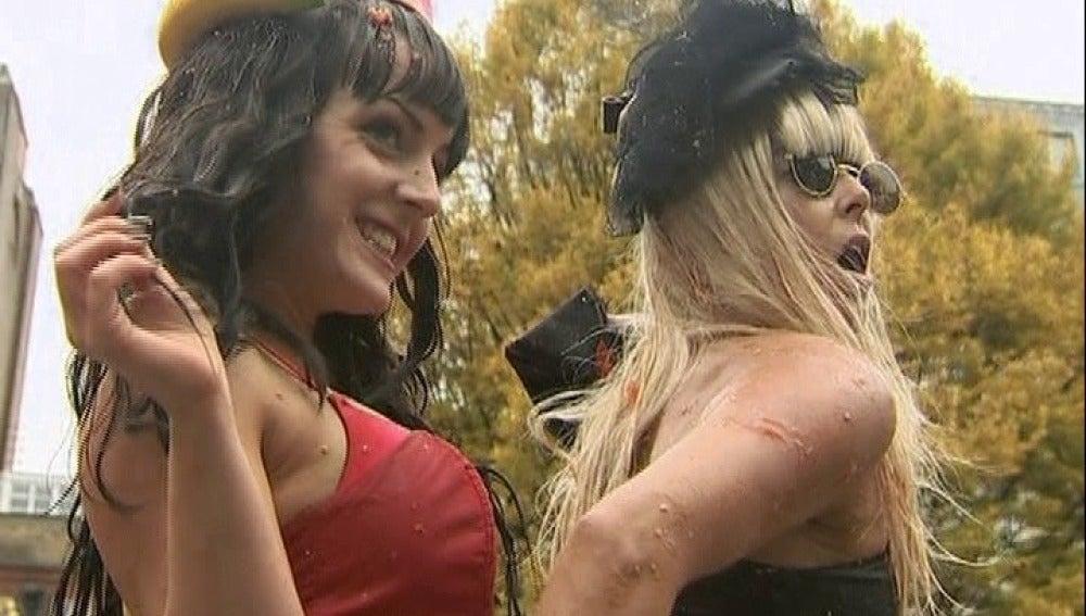 Kate Perry y Lady Gaga