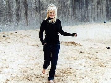 Duffy en la playa