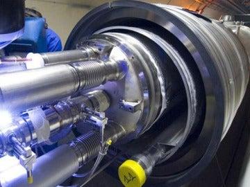 El colisionador de partículas del CERN