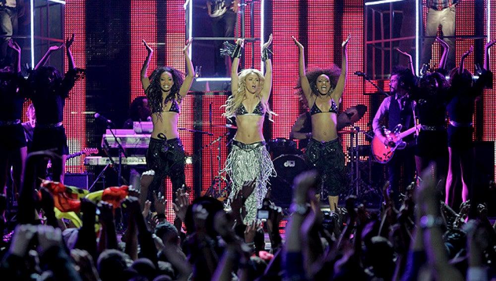 Shakira en la gala MTV
