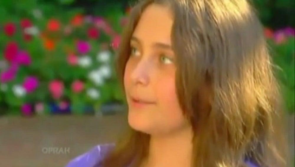 Paris Jackson, hija de Michael Jackson