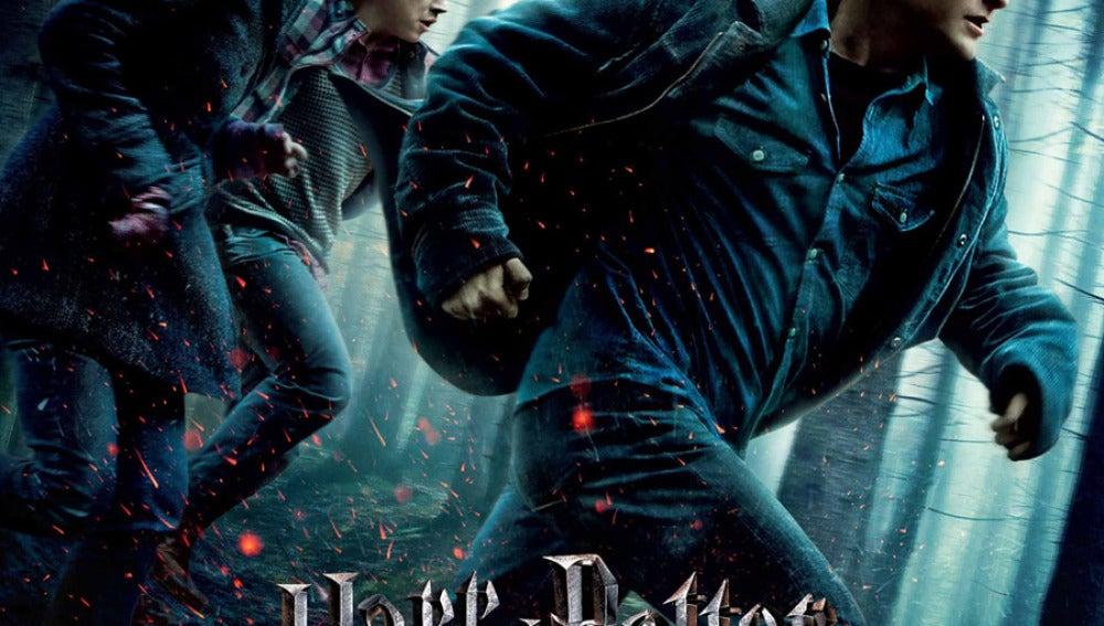 Cartel oficial de Harry Potter y las reliquias de la muerte