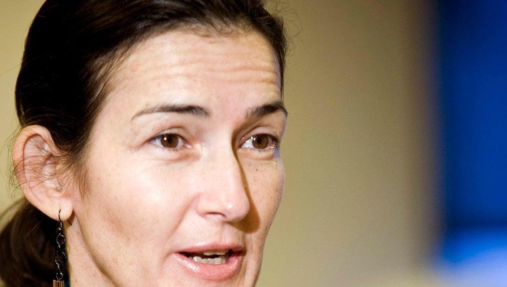La Ministra de Cultura, Ángeles González-Sinde