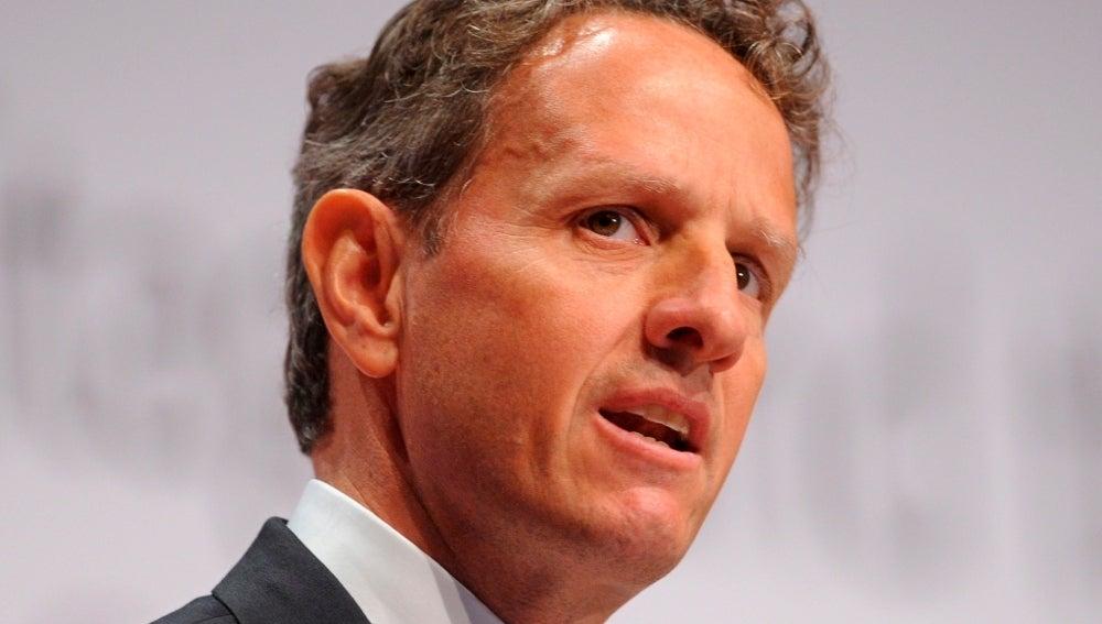 El secretario del Tesoro de EE.UU., Timothy Geithner