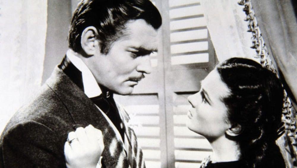 Clark Gable en 'Lo que el viento se llevó'
