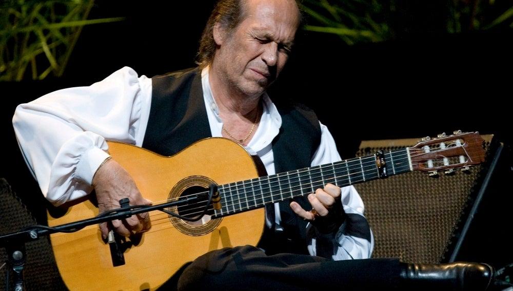 El guitarrista Paco de Lucía