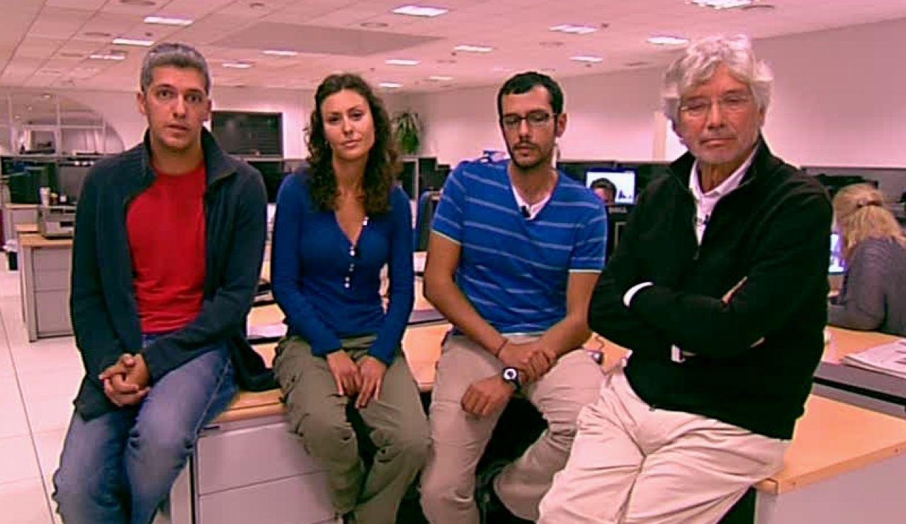 El equipo de enviados especiales de Antena 3