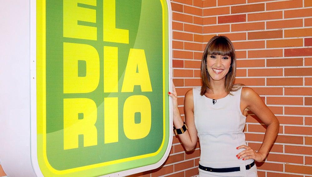 Sandra Daviu, presentadora de El Diario