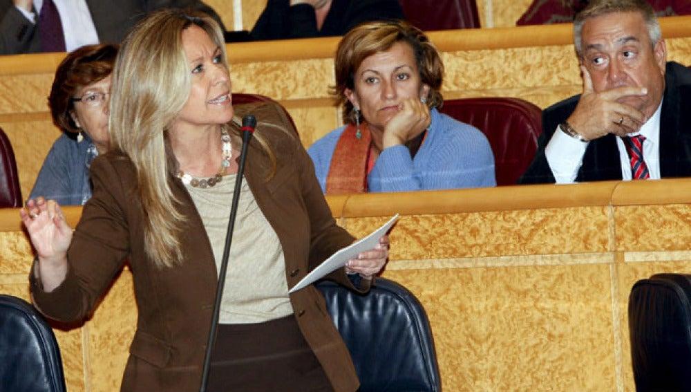Trinidad Jiménez, en el Senado