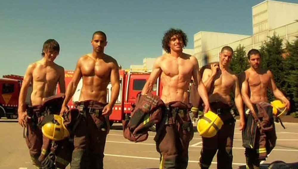 Los bomberos catalanes