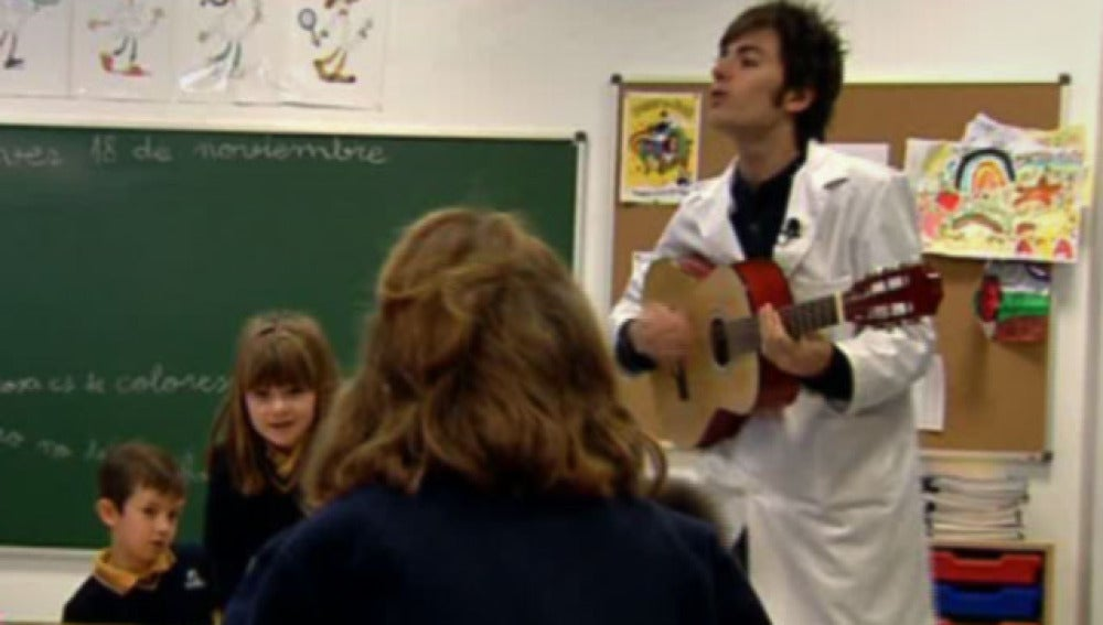 Profesor y cantante