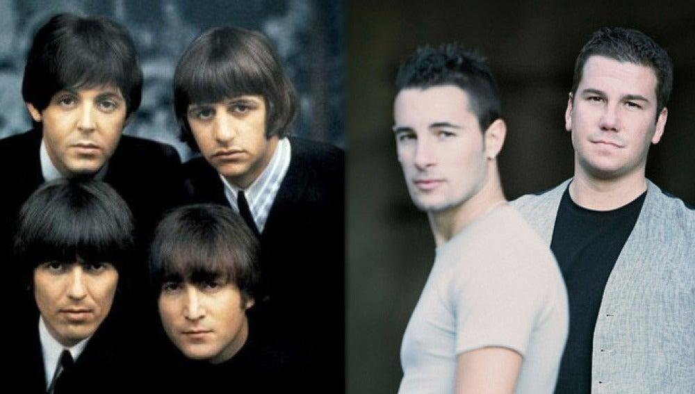 Los Beatles vs. Andy y Lucas