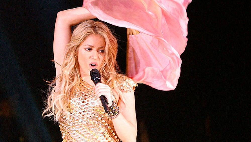 El vídeo más completo de Shakira en Madrid
