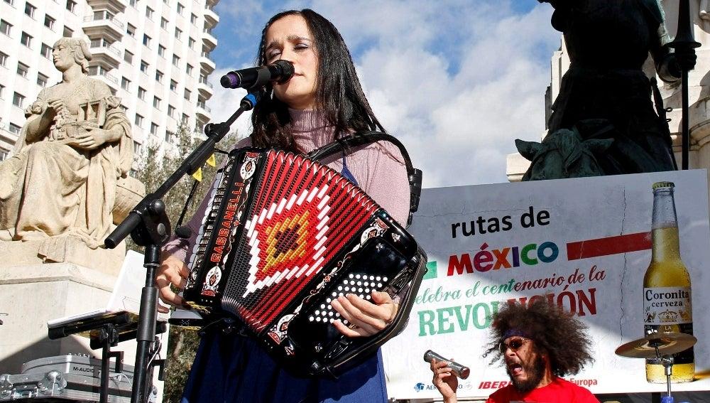 Julieta Venegas en Madrid