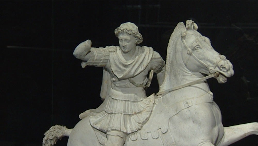 Figura de la exposición 'Alejandro Magno'