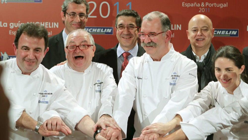 Estrellas Michelin 2010