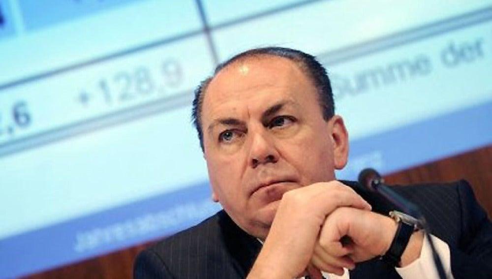 Axel Weber, presidente del Bundesbank