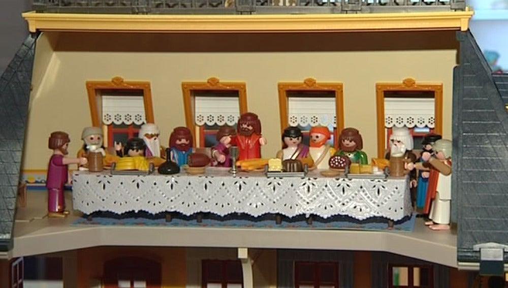 Cuadros famosos con muñecos Playmobil
