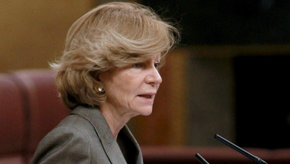 Elena Salgado, ministra de Economía