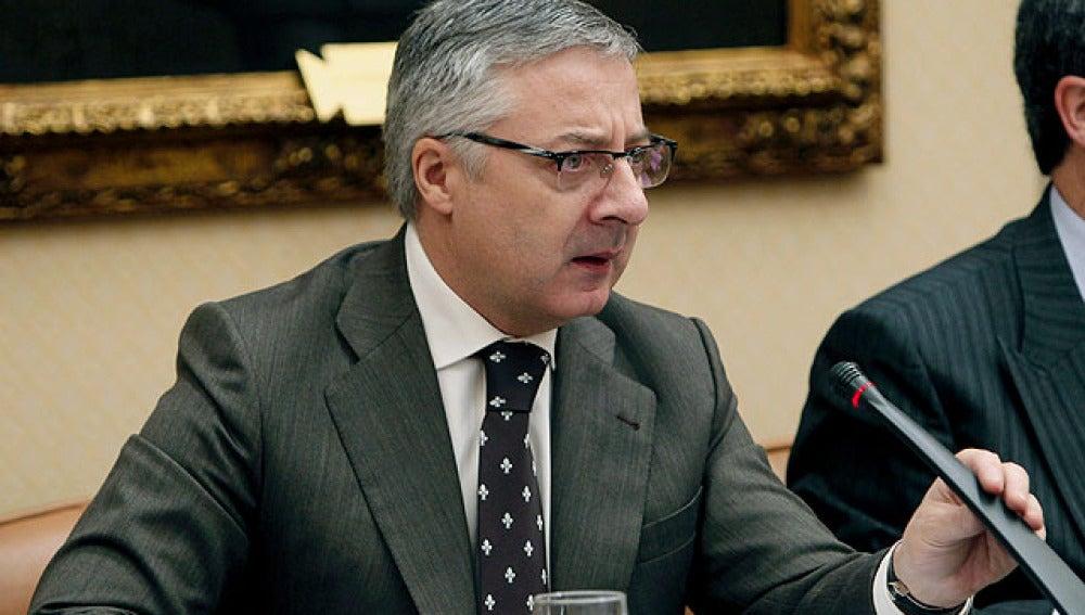 José Blanco en la Comisión de Vivienda