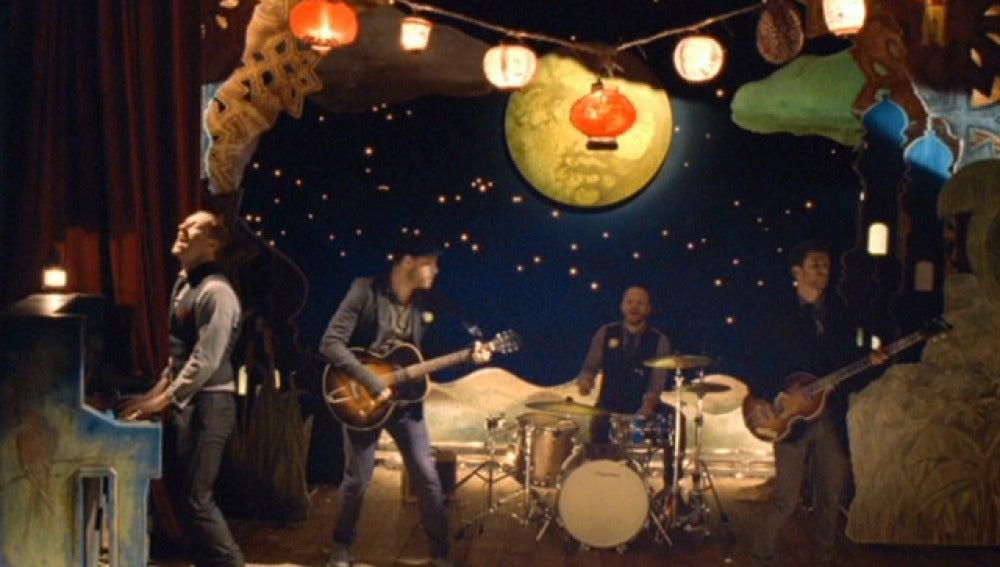 El nuevo vídeo de Coldplay