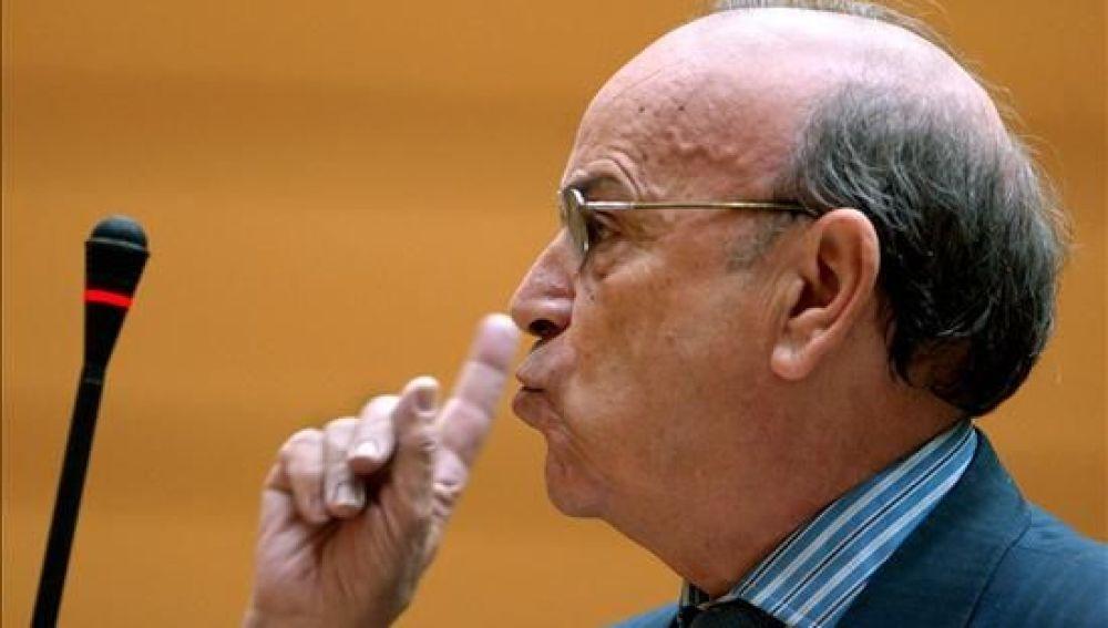 El portavoz de Exteriores del PP en el Senado, Alejandro Muñoz-Alonso