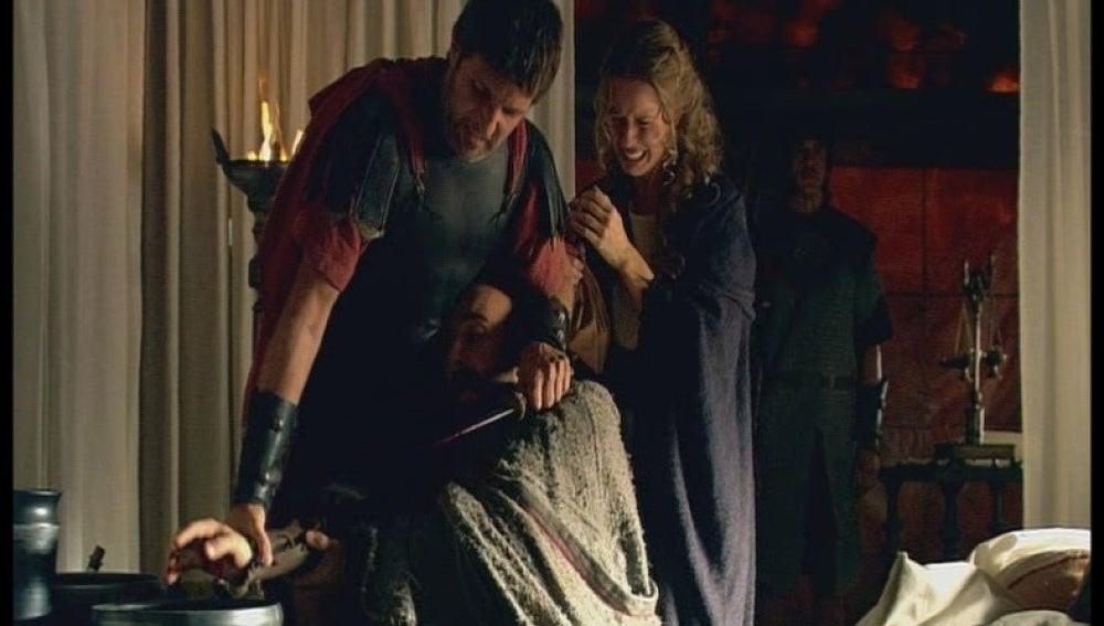 Helena pone en peligro la vida de su padre