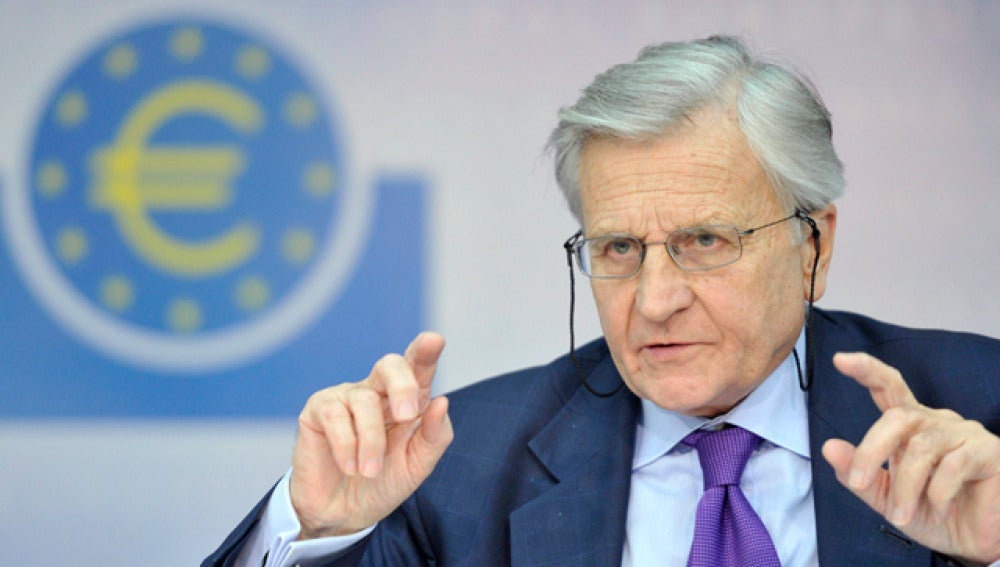 Jean-Claude Trichet, presidente del Banco Central Europeo