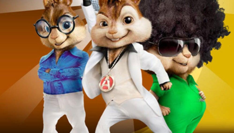 Alvin y las ardillas vuelven al ataque