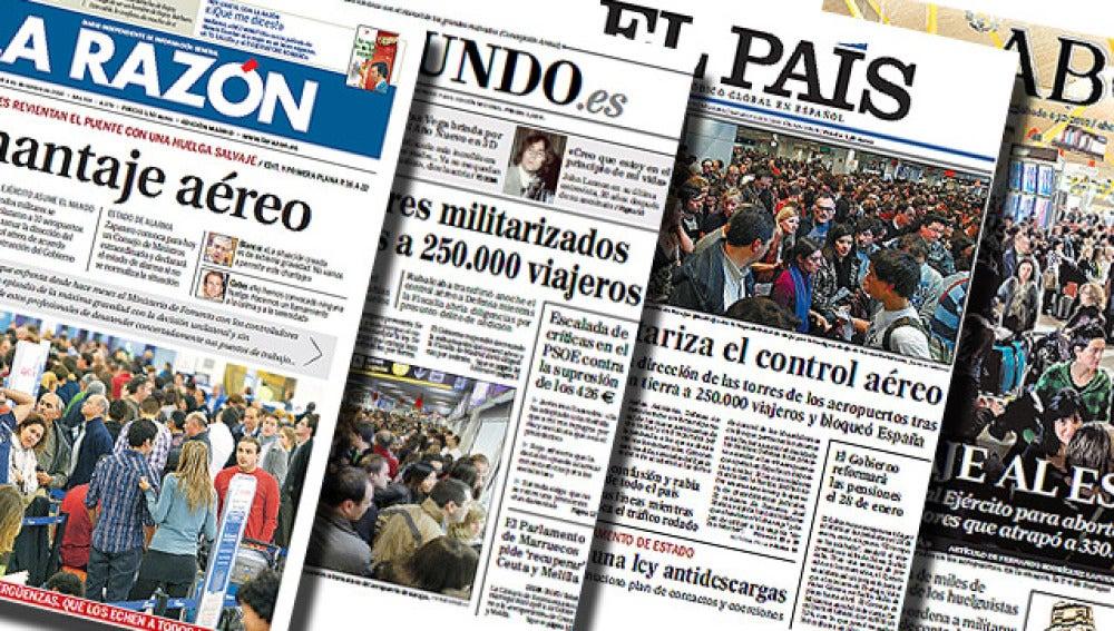 Resumen de prensa de los principales diarios