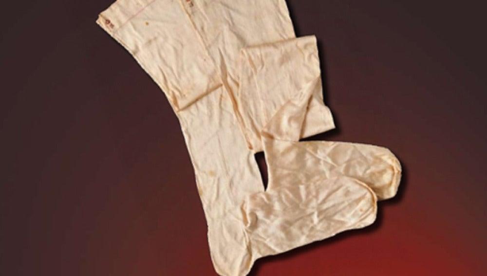 Las medias que pertenecieron a Napoleón