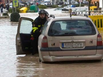 Inundaciones en Écija, Sevilla