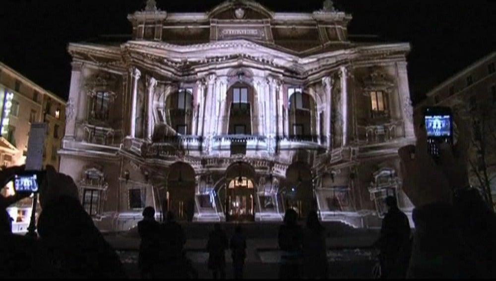 Como cada año, el ayuntamiento de Lyon celebra la Fiesta de la luz