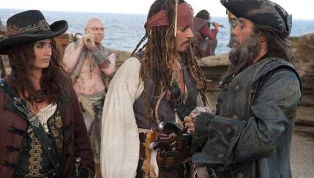 Nuevas imágenes de Penélope en Piratas del caribe.