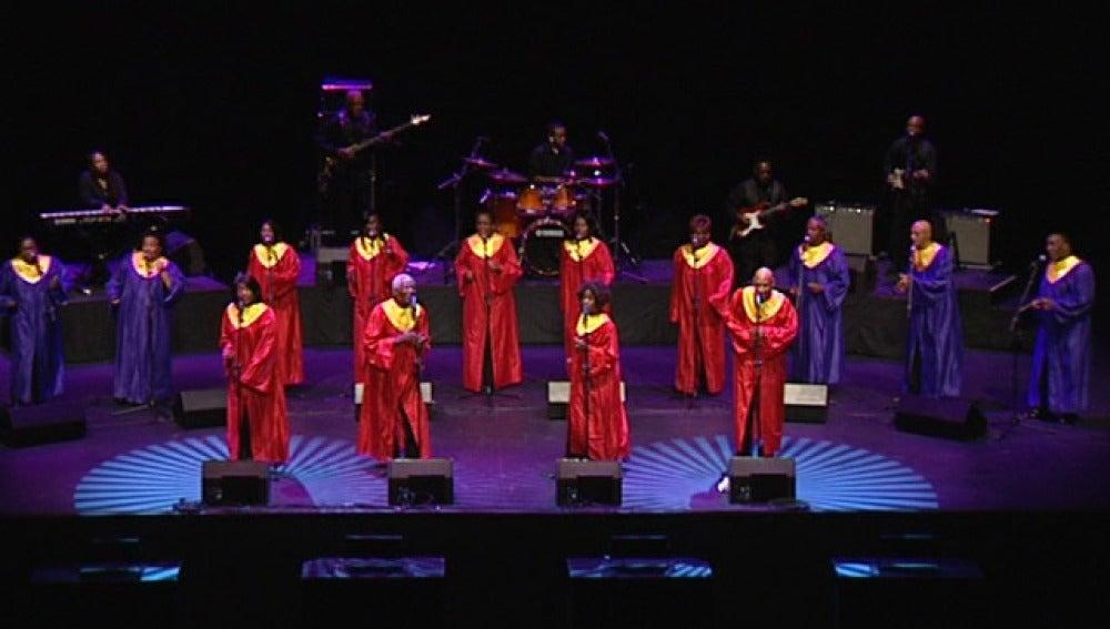 Un coro de gospel