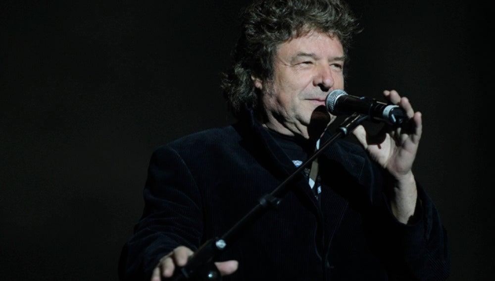 Enrique Morente durante una actuación