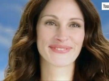 Julia Roberts cobra más de un millón de euros en un anuncio en el que solo sonrie