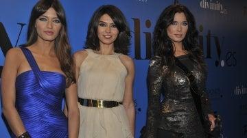 Sara Carbonero, Marta Fernández y Pilar Rubio