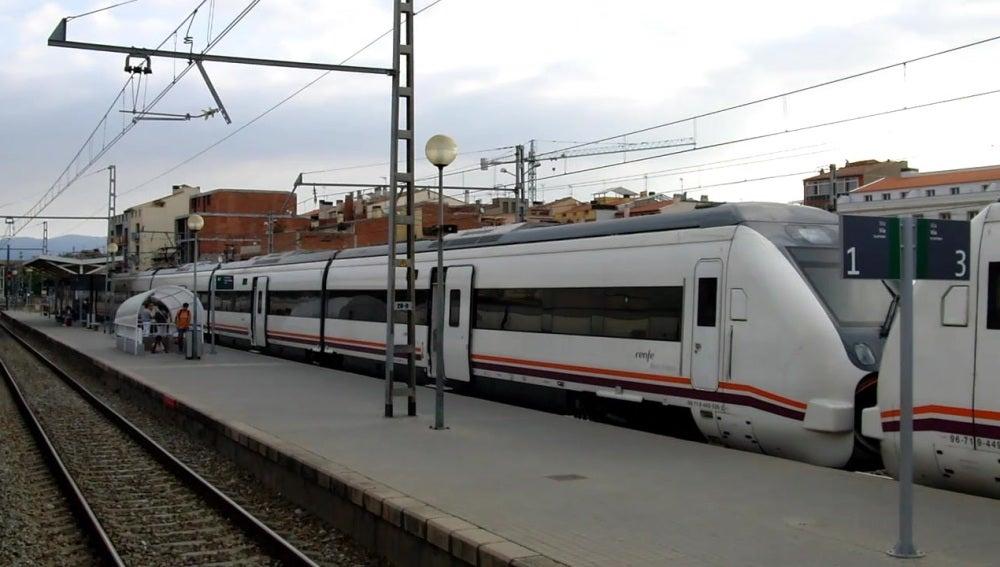 Estación de Figueres, en Cataluña
