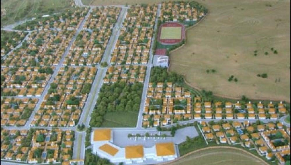 Plan urbanístico Santa Ana del Monte