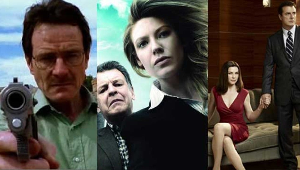 Breaking Bad, Fringe y The Good Wife