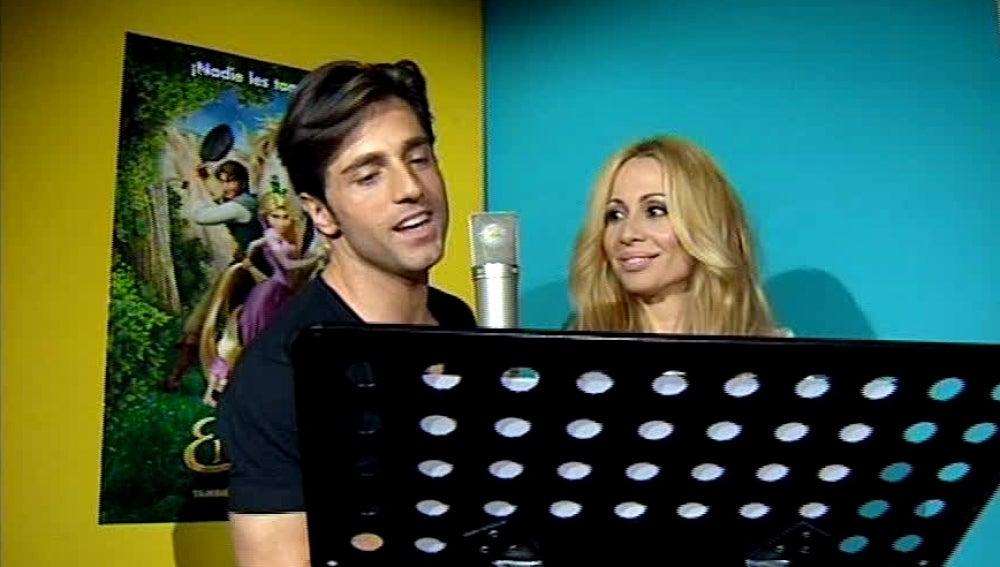 David Bustamante y Marta Sánchez